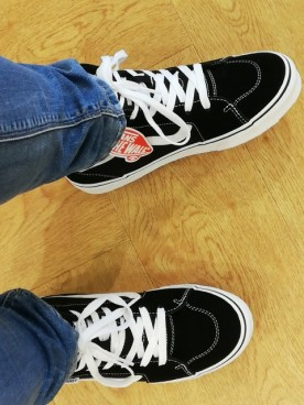 my new shoes!